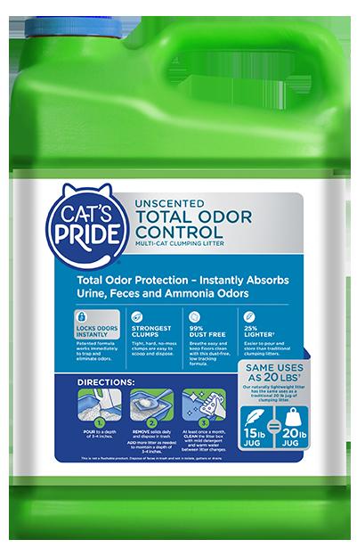 Total Odor Control Unscented - Cat's Pride